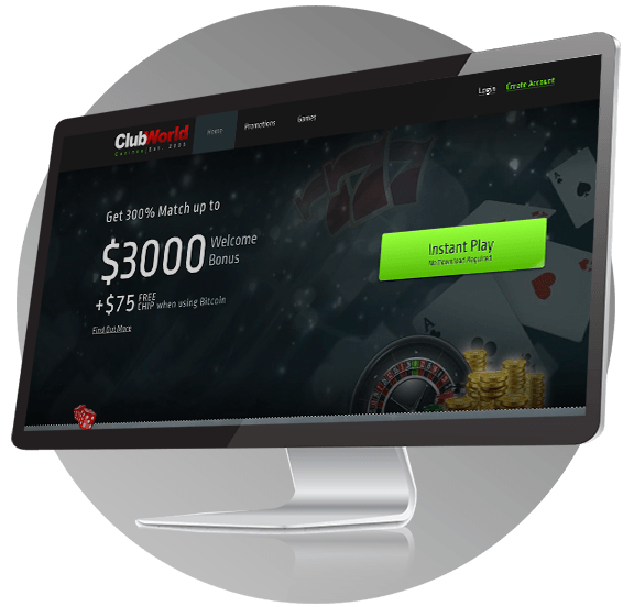 Club World Casino Design