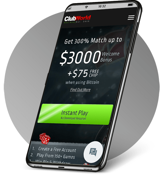 Club World Mobile Casino