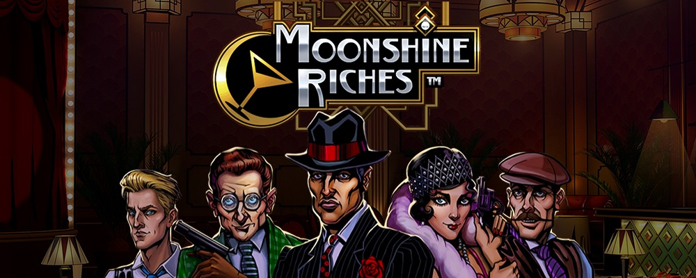 Moonshine Riches slot by NetEnt