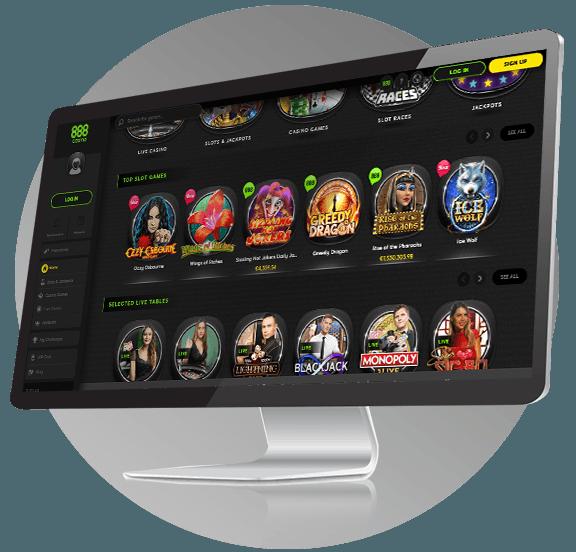 888 Casino Design