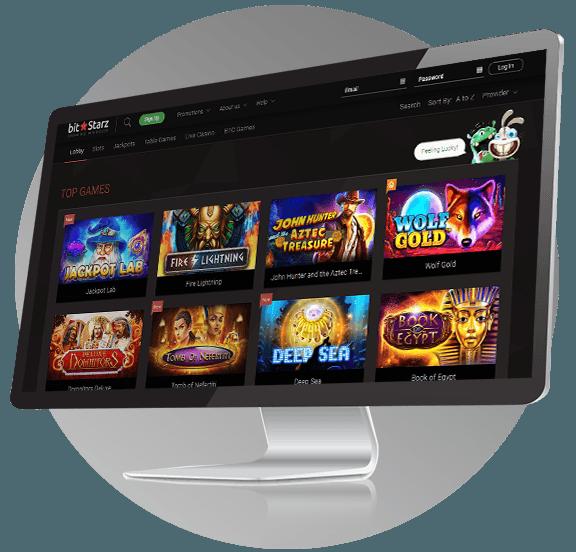 Bitstarz Casino Design