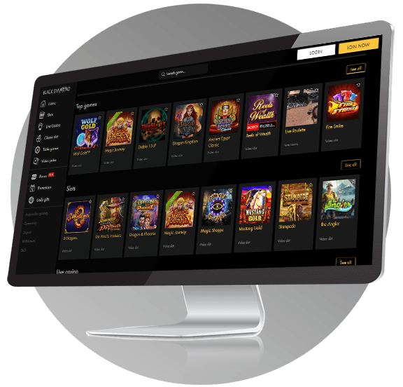 Black Diamond Casino Design
