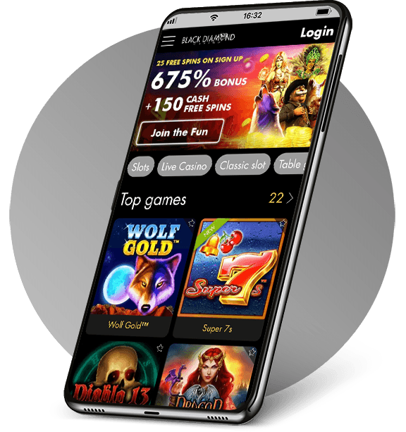 Black Diamond Mobile Casino