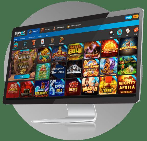 Bonza Casino Design