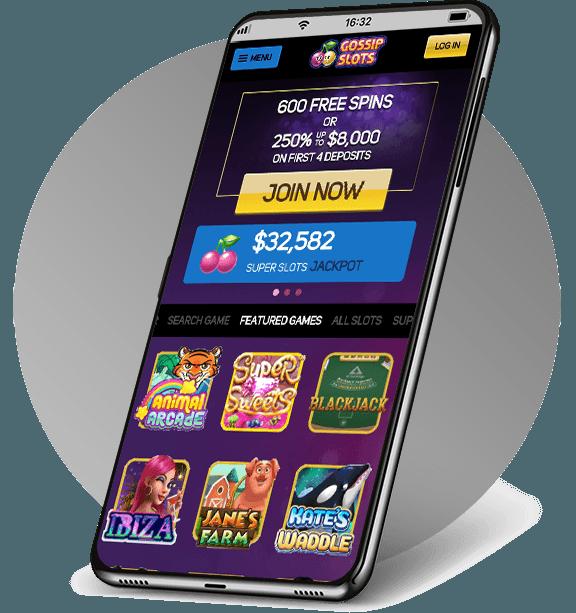 Gossip Slots Mobile Casino
