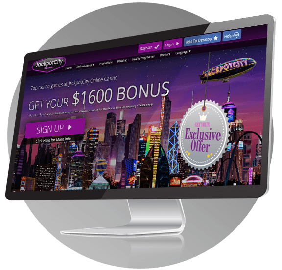 Jackpot City Casino Design