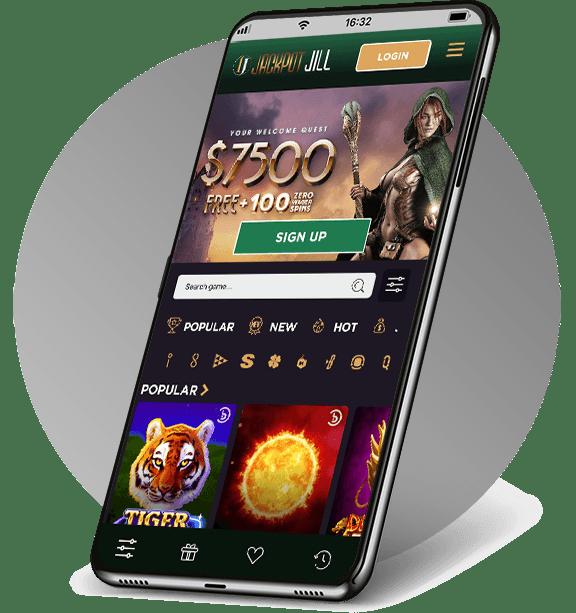 Jackpot Jill Mobile Casino