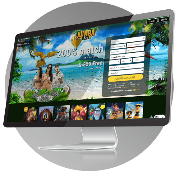 Jumba Bet Casino Design