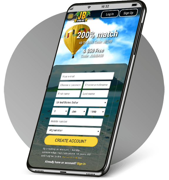 Jumba Bet Mobile Casino