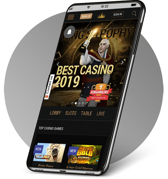 King Billy Mobile Casino
