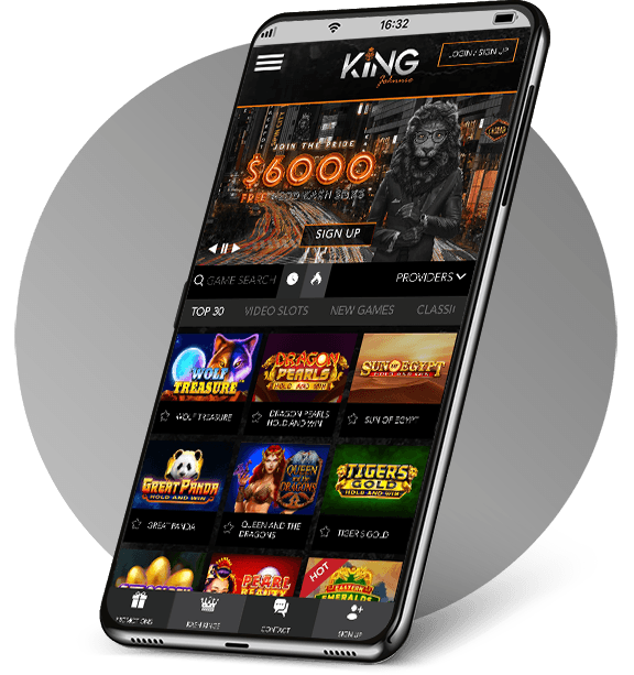 King Johnnie Mobile Casino