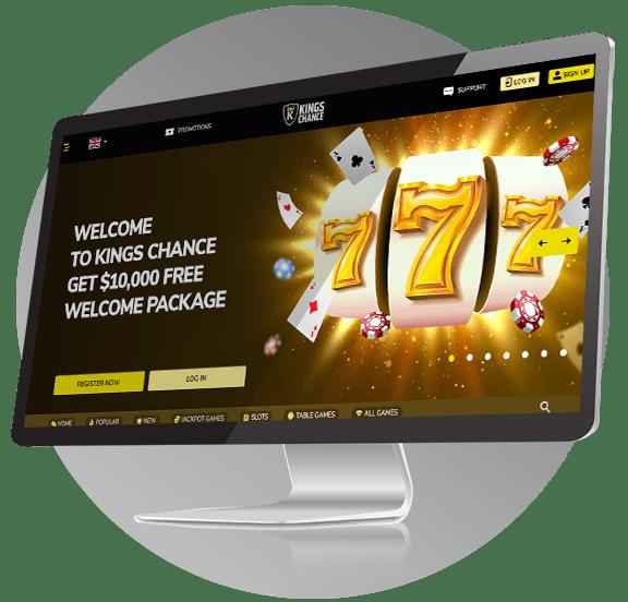 King's Chance Casino Design