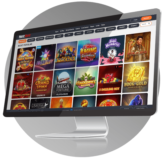NetBet Casino Design