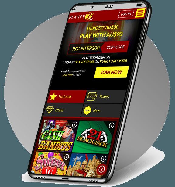 Planet 7 Oz Mobile Casino