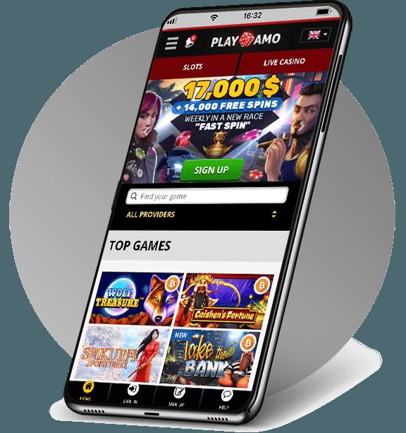 PlayAmo Mobile Casino
