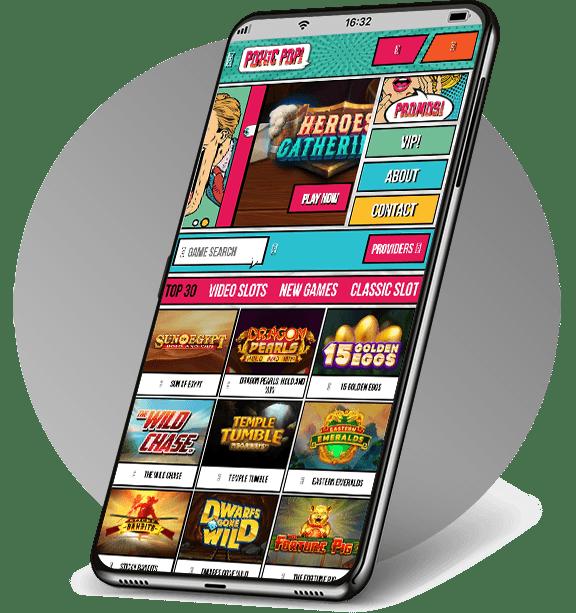 Pokie Pop Mobile Casino