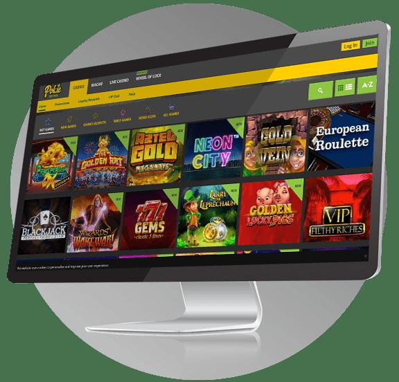Pokie Spins Casino Design