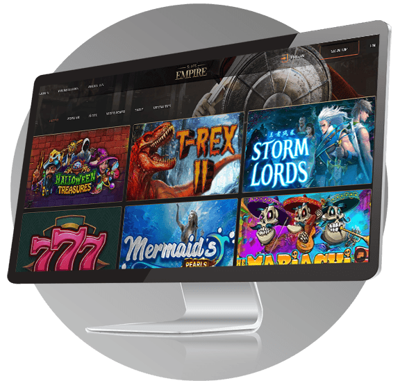 Slots Empire Casino Design