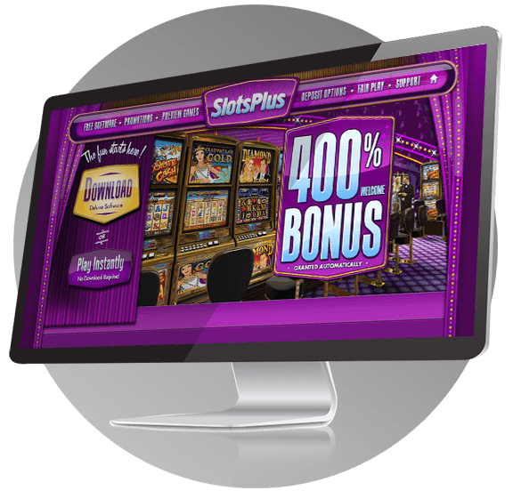 Slotsplus Casino Design