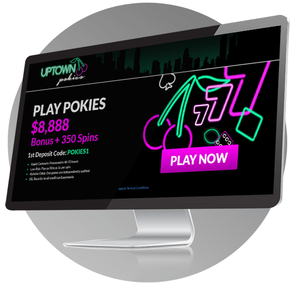 Uptown Pokies Casino Design