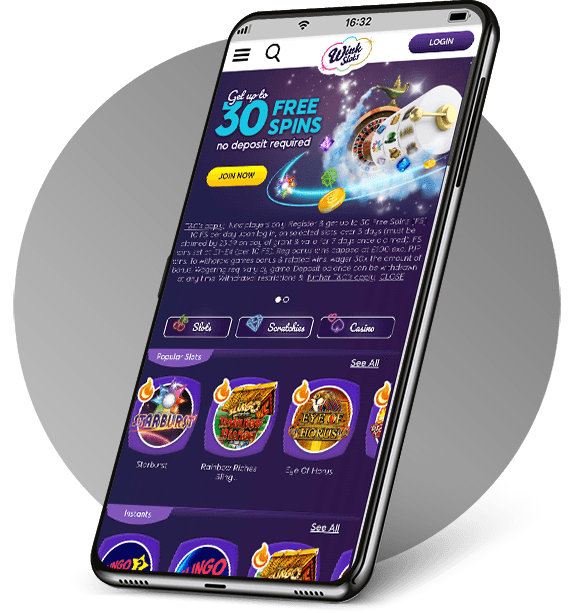 Wink Slots Mobile Casino