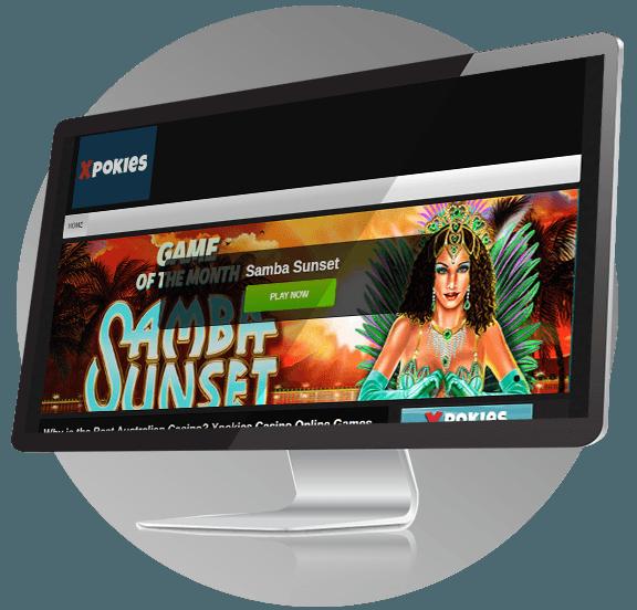 XPokies Casino Design