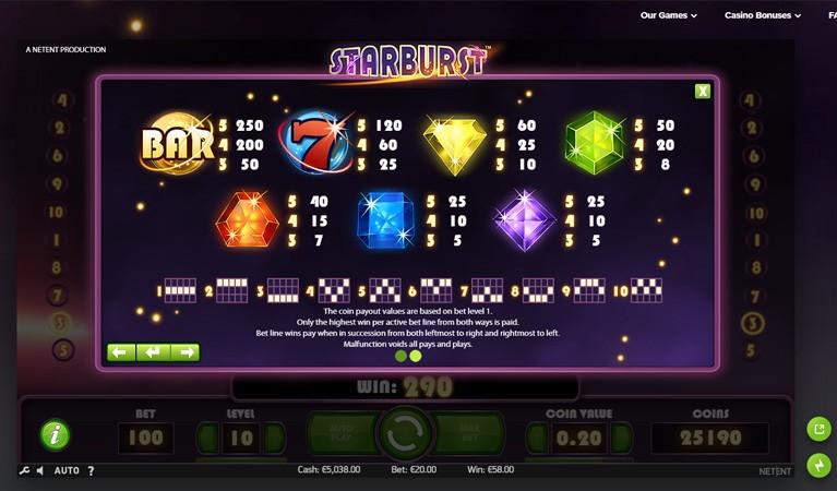 Starburst Play